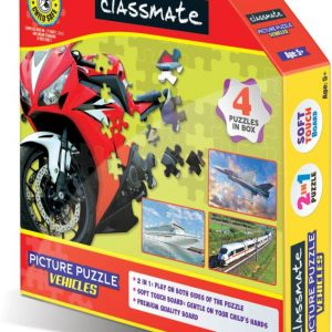 CLASSMATE PICTURE PUZZLE VEHICLES