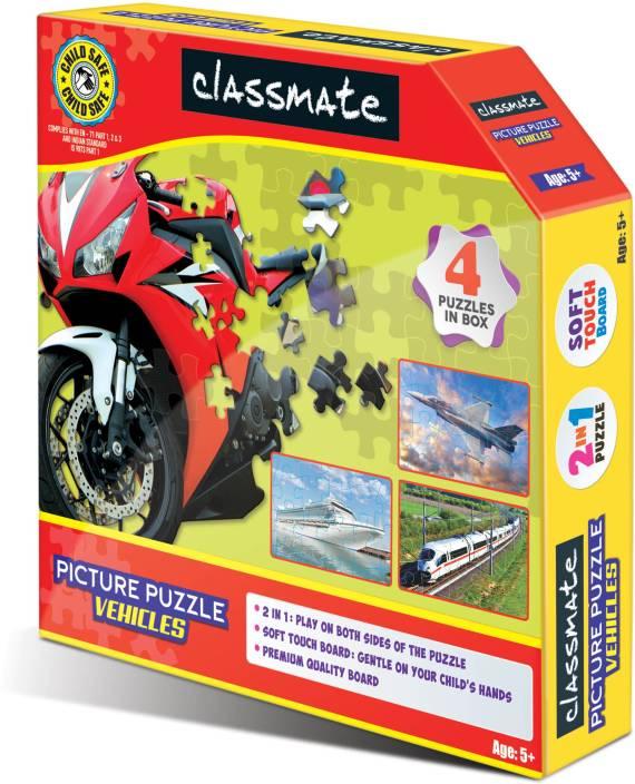 CLASSMATE PICTURE PUZZLE VEHICLES