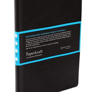 Paperkraft Signature Series Notebook- 60 blue pages