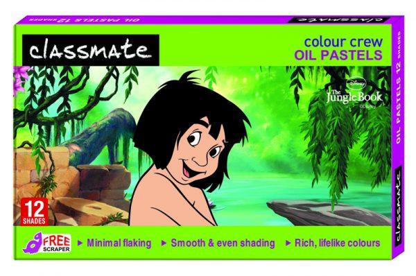 Classmate Oil Pastels 12 Shades 60mm length