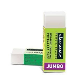 classmate pencil eraser jumbo