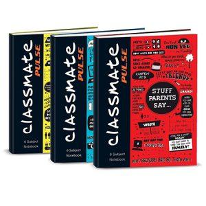 CLASSMATE PULSE 1 SUB SPINETAPED NOTEBOOK