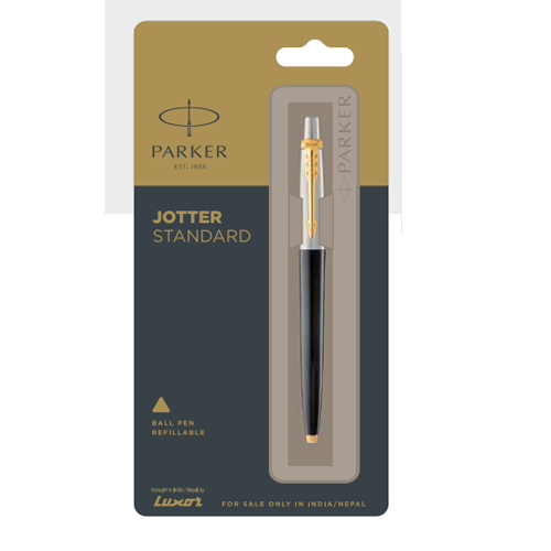 Parker Jotter Standard Ball Pen With Gold Trim Authorized Distributor Wholesaler Retailer Bulk Order Buy Shop Online Supplier Dealers In Kerala South India