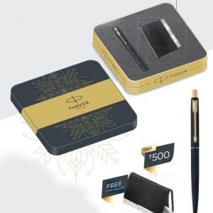 Parker Classic Matte Black Ball Pen GT Authorized Wholesaler Retailer Bulk Order Supplier Dealers in Kerala South India