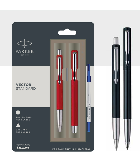 Parker Vector Standard Ball Pen Authorized Wholesaler Retailer Bulk Order Buy Shop Online Supplier Dealers In Kerala South India