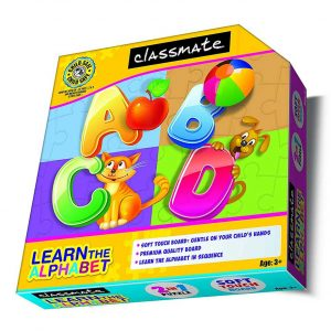 Classmate Itc Kids Learn The Alphabet Puzzle Age 3 Plus