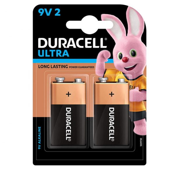 Duracell 9V 2BL Ultra 9V Alkaline Battery with Duralock Technology Pack of 2 SKU: 5005410 Authorized Distributors Wholesaler Renaissance Shop Buy Online Supplier Best Lowest Price Dealers In Kerala South India