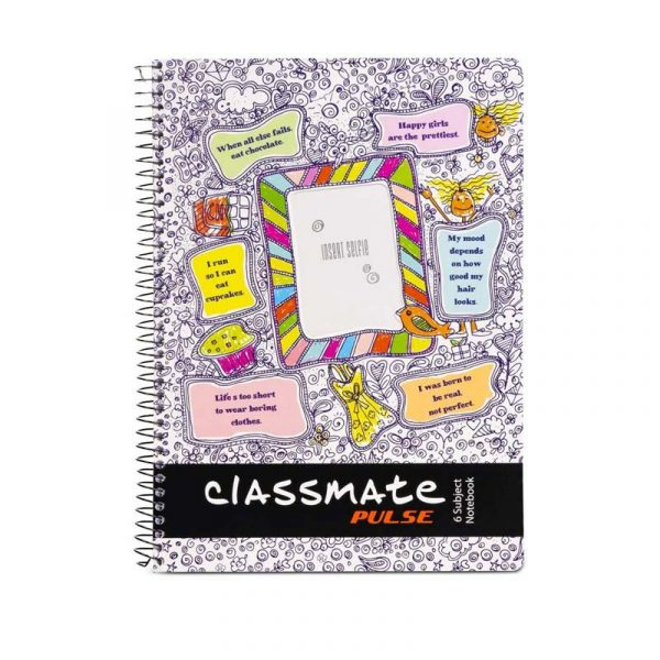 classmate notebook pulse 6 subject 240 180 300 pages single line soft cover authorized distributors wholesaler bulk order shop buy online supplier best lowest cheapest factory price dealers alappuzha ernakulam kochi kottayam kerala india
