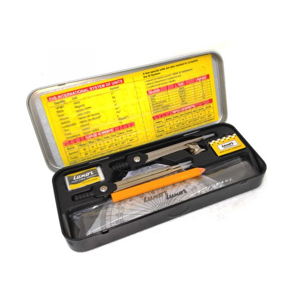 study mate geometry instrument box 1685 luxor authorized distributors wholesaler bulk order shop buy online supplier best lowest cheapest factory price dealers alappuzha ernakulam kochi cochin kottayam kerala india